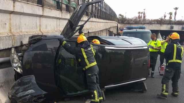 Imagen de archivo de un accidente.