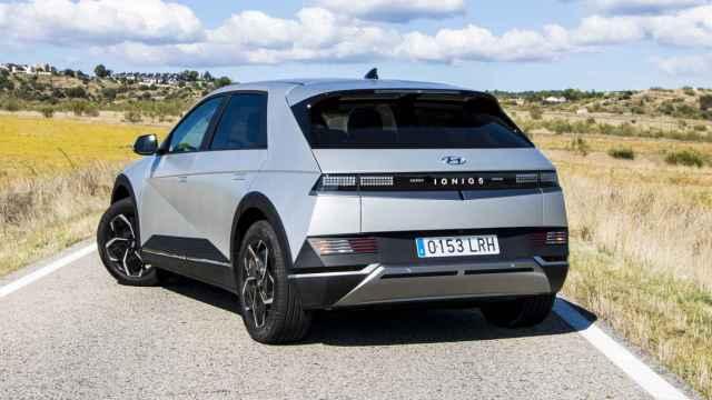 El Hyundai Ioniq 5 es un SUV 100% eléctrico de tamaño grande.