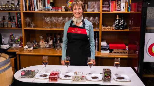 Los cuatro tés negros probados por Marisol González, sumiller de té y profesora de la Escuela Española de Cata.