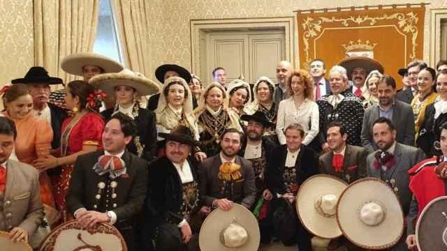 25 de enero de 2020: la delegación de Jalisco es recibida en el Ayuntamiento de Salamanca tras la firma del acuerdo de hermanamiento con el estado mexicano