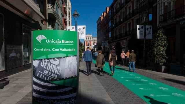 Carteles de Seminci en el centro de Valladolid