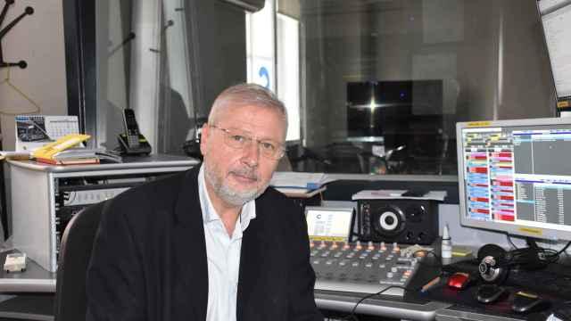 Luis Jaramillo en los estudios de Cope Valladolid