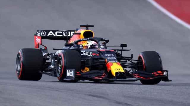 Verstappen en el Gran Premio de Las Américas en Austin en Estados Unidos