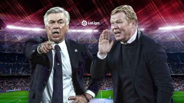 En directo | Ruedas de prensa de Carlo Ancelotti y Ronald Koeman tras El Clásico