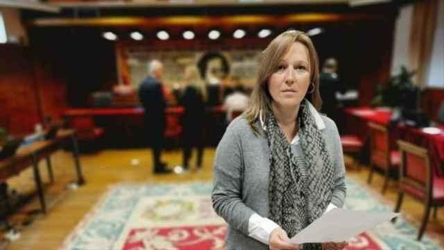 La senadora Lourdes Retuerto en una imagen difundida por el PSOE.
