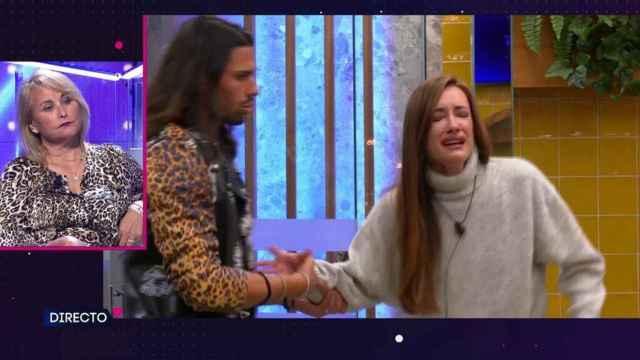 Adara Molinero sufre un ataque de ansiedad en 'Secret Story' por un mensaje de Lucía Pariente