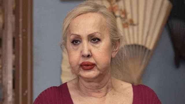 Muere a los 66 años la vedette Laura Frenchkiss, Rocío en la serie 'Veneno'