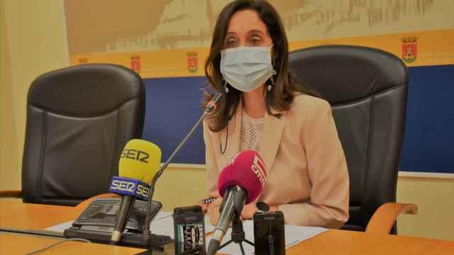 Flora Bellón, portavoz del Ayuntamiento de Talavera de la Reina y concejala de Seguridad.