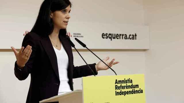 Marta Vilalta, portavoz de ERC, en una imagen de archivo.