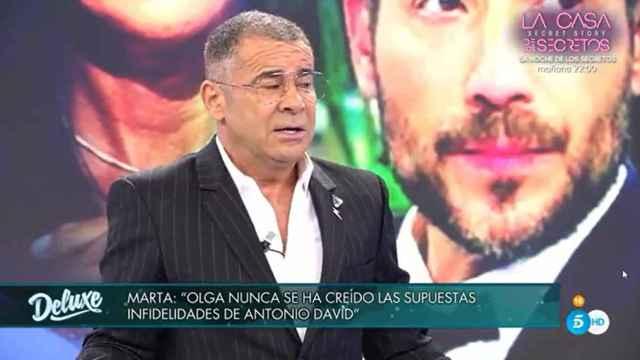 Jorge Javier Vázquez ha criticado la actitud de Marta López en 'Sábado Deluxe'.
