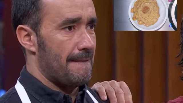 Juanma Castaño y su plato más feo de la historia MasterChef Celebrity