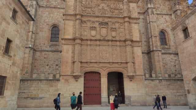 Edificio Histórico de la USAL, donde se organizarán visitas guiadas el 16 de noviembre con motivo del Día Internacional del Patrimonio