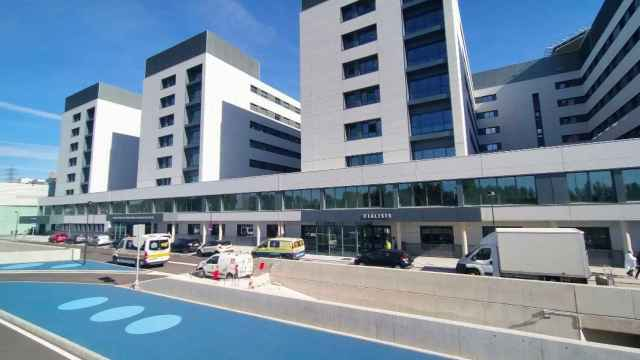 Vista exterior del nuevo hospital de Salamanca
