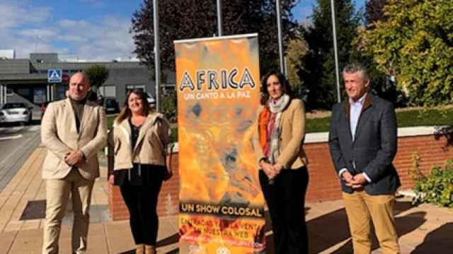 Presentación del espectáculo 'África, un canto para la paz' en Arroyo de la Encomienda