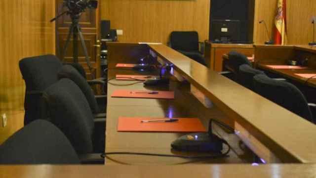 Imagen del interior de la Audiencia de Valladolid