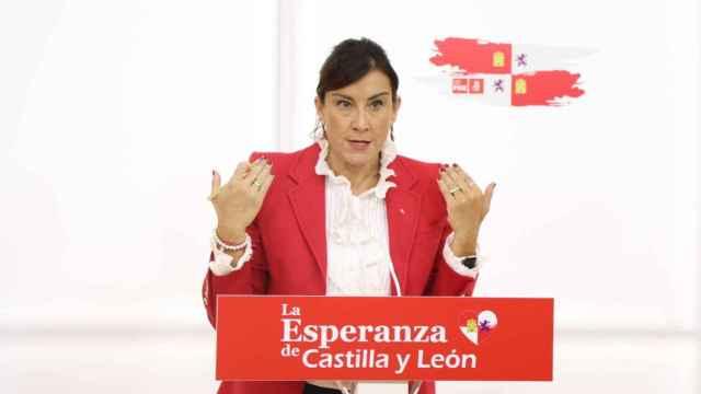 La secretaria de Organización del PSOECyL, Ana Sánchez