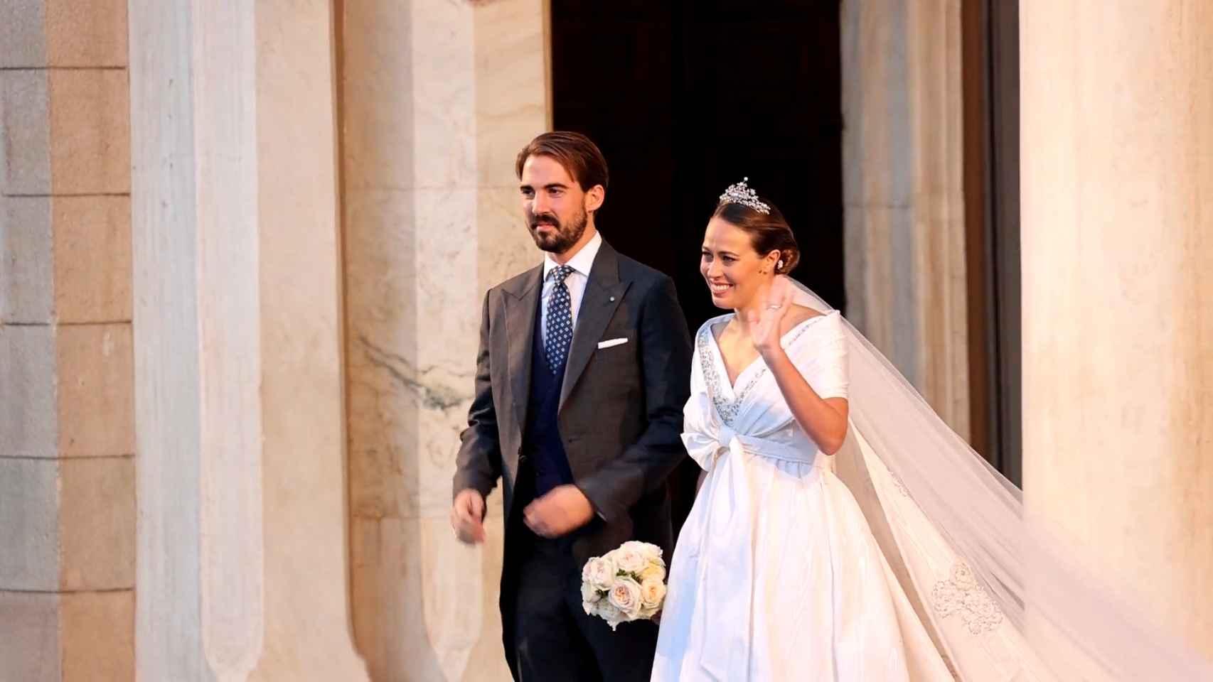 Atenas acoge la esperada boda de Philippos de Grecia y Nina Flohr