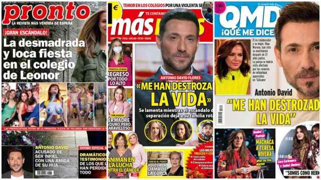 Kiosco rosa: los motivos de la separación de Antonio David Flores y Olga Moreno