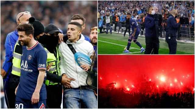 Los incidentes del Marsella - PSG