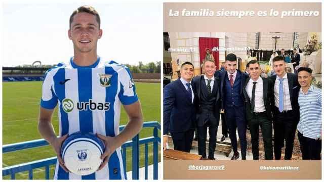 La polémica foto de Borja Garcés en la boda