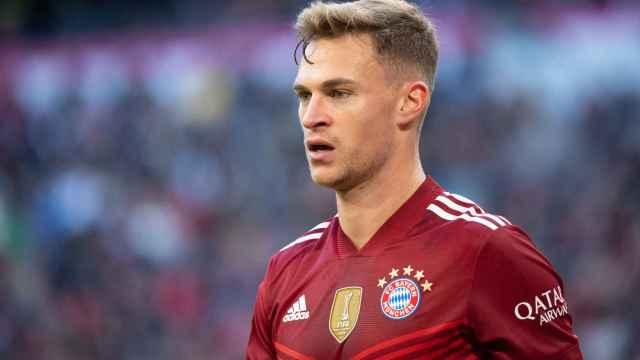 Kimmich durante un partido con el Bayern de Múnich