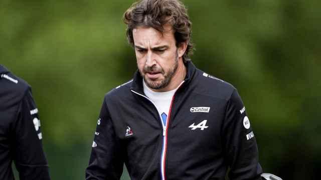 Fernando Alonso, durante un gran premio