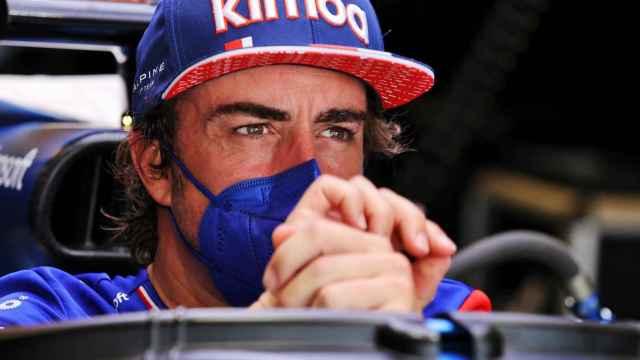Fernando Alonso, durante el Gran Premio de Estados Unidos de Fórmula 1 en COTA (Austin/Texas)