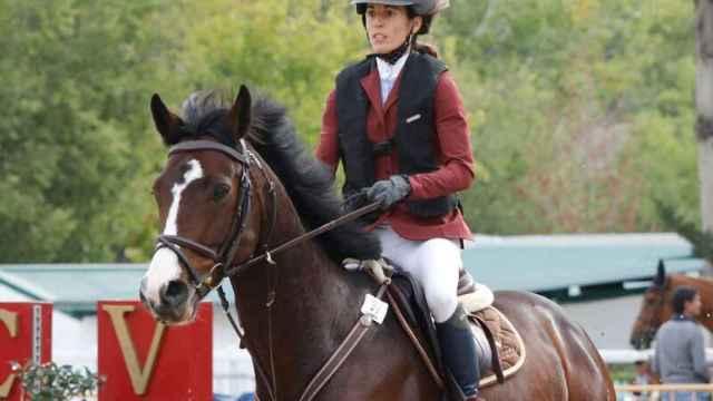Elena Legarra, la amazona fallecida en Navarra por una coz de su caballo