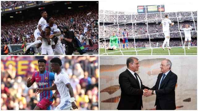 El Real Madrid se lleva El Clásico contra el Barça