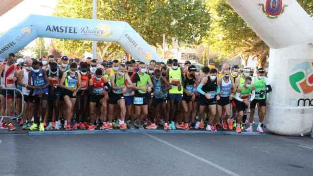 Salida de la Quijote Maratón de Ciudad Real