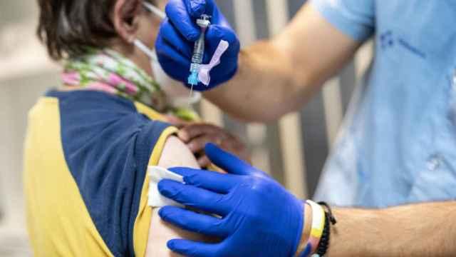 Vacuna contra el covid. Imagen de archivo