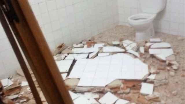 Acto vandálico en los aseos públicos de La Pulgosa (Albacete)