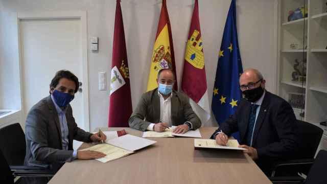 La Fundación Globalcaja Albacete apoyará los actos del centenario de los Depósitos del Sol