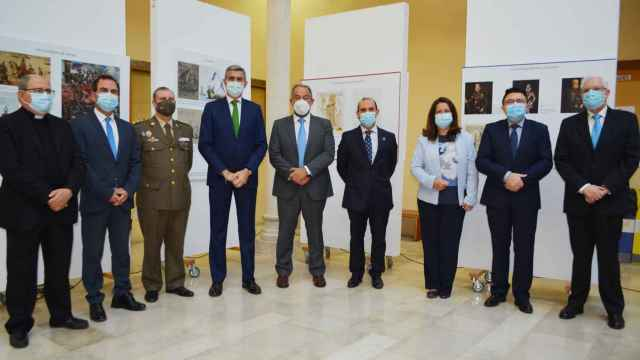 Inauguración de la exposición 'Lepanto. Más allá de Cervantes' en Toledo. Foto: Diputación de Toledo