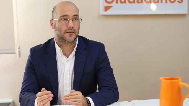 Luis Meroño, portavoz de Ciudadanos del Ayuntamiento de Bargas (Toledo)