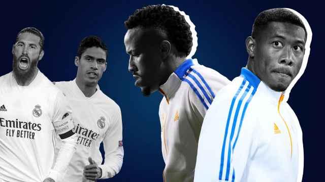 Alaba y Militao, en un fotomontaje con Ramos y Varane