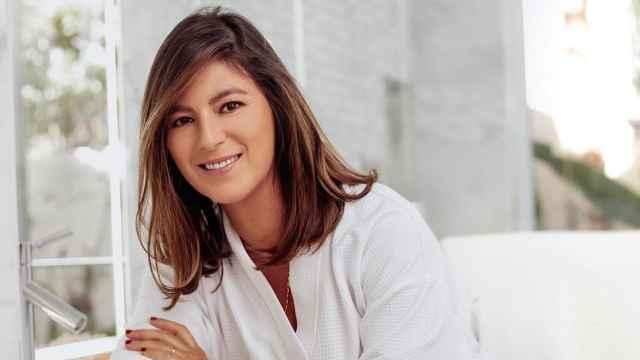 Chábeli Iglesias, en una imagen de sus redes sociales en la que promociona su colección para Carmen Borja.
