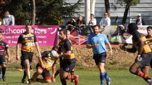 Victoria del equipo sénior de Salamanca Rugby para consolidar el liderato de la LigASISA