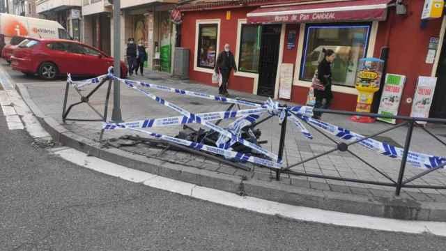 Accidente en Valladolid de madrugada