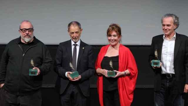 Premio en Seminci a la trayectoria de Álex de la Iglesia, Coronado, Sampietro y Alcaine
