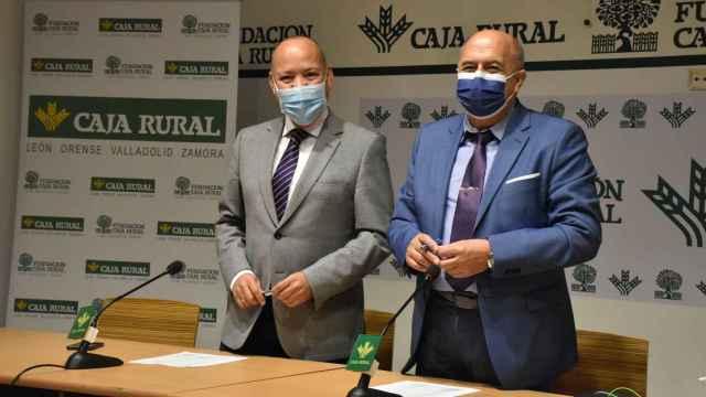 Feliciano Ferrero y José María Barrios