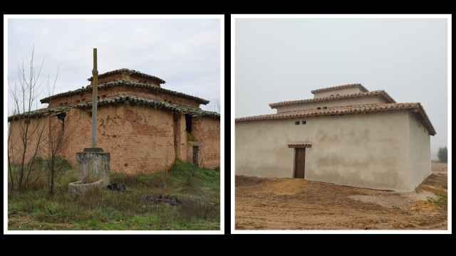 El antes y el después del Palomar de Carrascal
