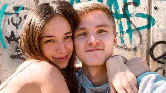 Palito Dominguín y su novio Harry en una imagen de sus redes sociales.