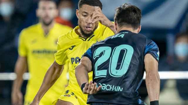 Danjuma, en el Villarreal - Cádiz de la undécima jornada de La Liga 2021/2022