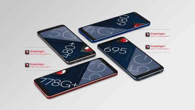 Qualcomm Snapdragon 778G+, 695, 480+ y 680