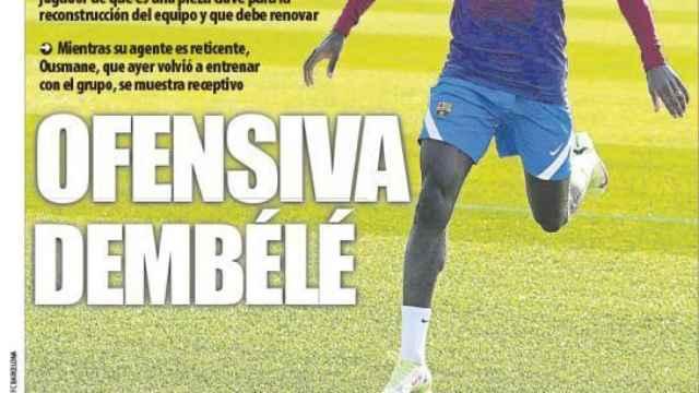 Portada Mundo Deportivo (26/10/21)