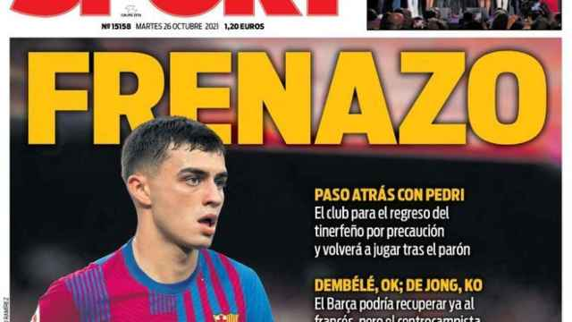 Portada Sport (26/10/21)