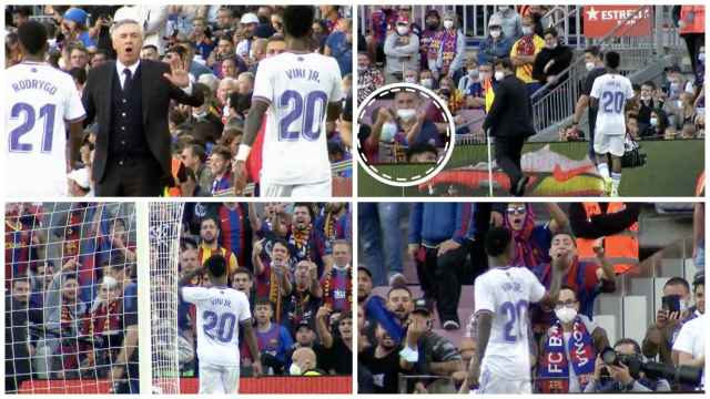 El toque de Ancelotti a Vinicius que no calmó la guerra en el Camp Nou