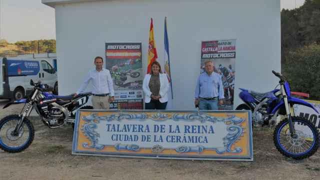 Presentación del Campeonato España de Motocross en Talavera de la Reina