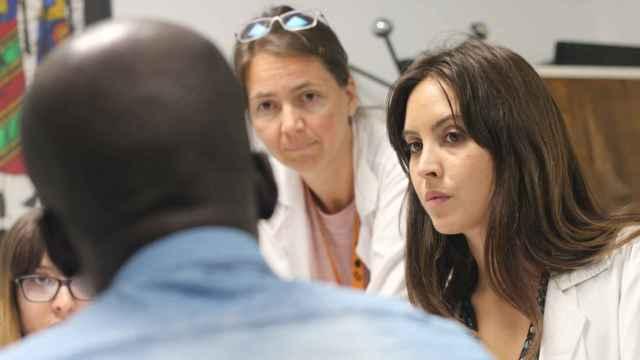 Martina Corral, coordinadora del Servicio de Interpretación y Mediación Intercultural (SIMI) de Salud Entre Culturas.